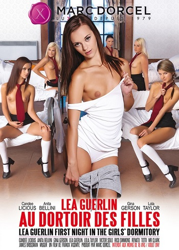 Первая ночь в женском общежитии / Lea Guerlin au dortoir des filles / First Night In The Girls Dormitory (2015) DVDRip