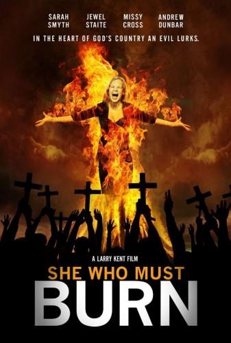 Она должна сгореть / She Who Must Burn (Ларри Кент / Larry Kent) [2015, Канада, Ужасы, триллер, драма, HDRip] VO (datynet)