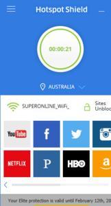 Hotspot Shield VPN Elite 6.20.16