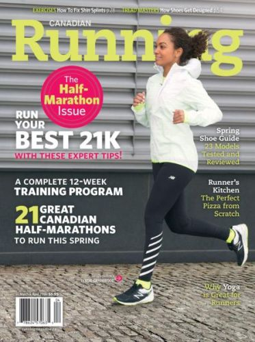 Canadian Running -- March-April 2017