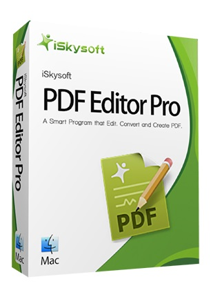 iSkysoft PDF Editor Pro with OCR for Mac 5.7.1