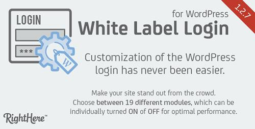 CodeCanyon - White Label Login for WordPress v1.2.7.76915 - 12248905
