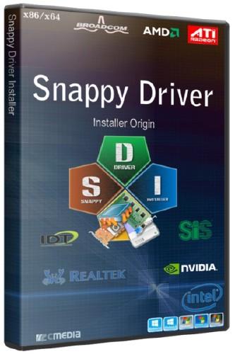 Snappy Driver Installer Origin R543 / Драйверпаки 17033 (2017/RUS/ML)