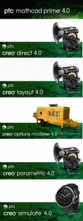 PTC Creo 4.0 M010 + HelpCenter ...
