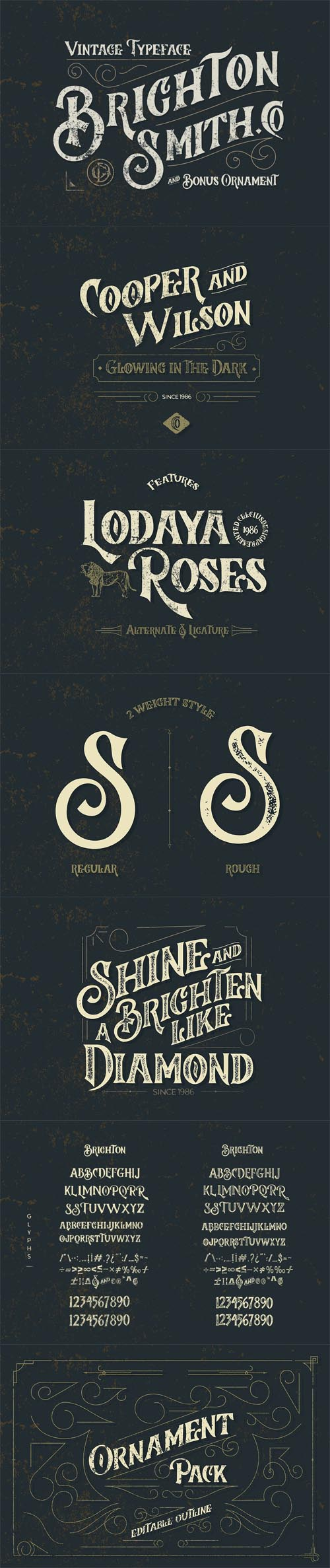 Brighton Smith Typeface