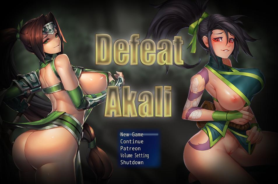 Defeat Akali [InProgress, v1.0a Beta] (NIUR) [uncen] [2019, RPG, Parody, League of Legends, ADV, Fantasy, Male hero, Big tits/Big Breasts, Footjob, Vaginal Sex, Creampie] [eng]