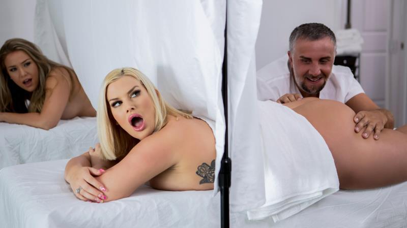 Behind The Curtain (Julie Cash) Medium Quality SD - DirtyMasseur / Brazzers-Год производства: 2019 г. [366.56 Mb/ 2019]