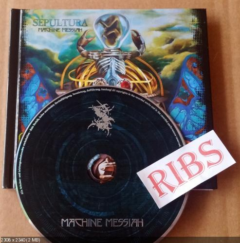 Sepultura - Machine Messiah (Limited Edition)(2017)