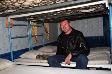 Александр Новиков в колонии