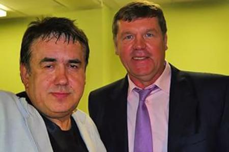 Александр Новиков и Станислав Садальский