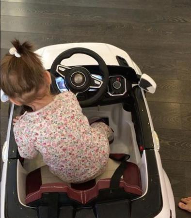 Ксения Бородина купила дочери первую машину