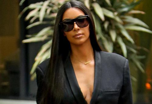 Ким Кардашьян возвращается к привычным нарядам (ФОТО)