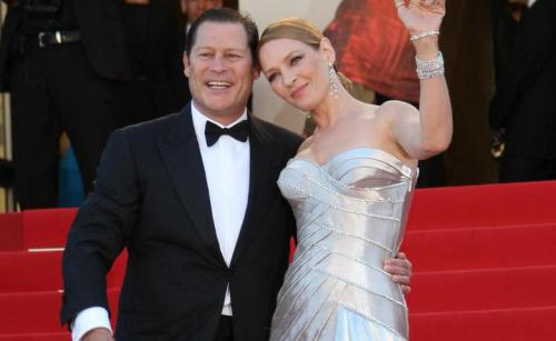 Бывший муж Умы Турман утверждает, что актриса страдает от психического расстройства