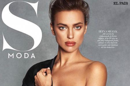 На первой полосе: Ирина Шейк появилась на обложке испанского глянца