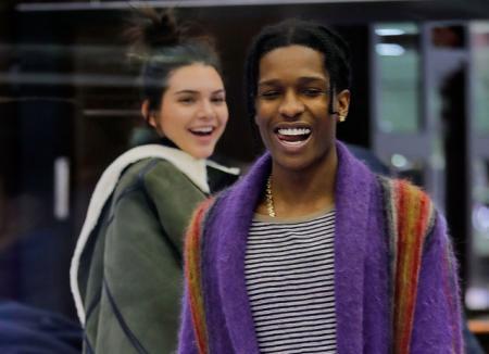 Кендалл Дженнер подогрела слухи о своем романе с рэпером A$AP Rocky