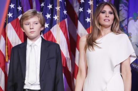 Где Бэррон? Реакция интернета на отсутствие младшего сына Дональда Трампа на предынаугурационном концерте