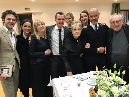 Паулина Андреева поддержала свекровь