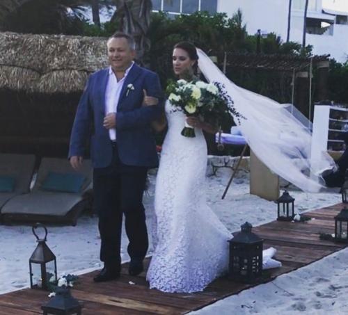 Кира Пластинина - свадьба