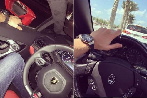 Романец и Гусев в Дубае