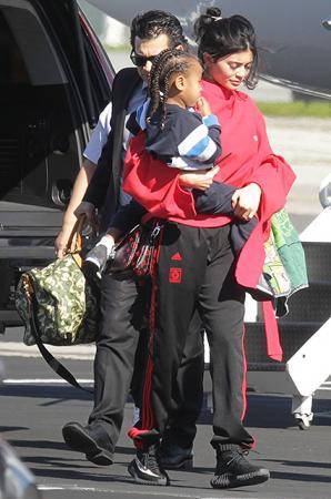 Кайли Дженнер с сыном бойфренда Tyga Кингом