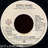 George Benson -  Turn Your Love Around (1981) 45 RPM Single