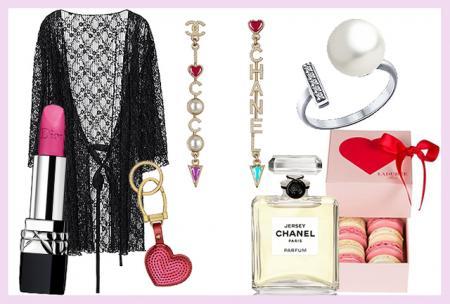 Чем порадовать себя любимую в День святого Валентина: кружевные боди, украшения, любимый парфюм и сладости