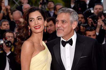 СМИ: Амаль и Джордж Клуни подтвердили, что ждут двойню и назвали дату родов