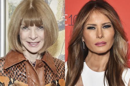 Анна Винтур хочет посвятить обложку Vogue Мелании Трамп