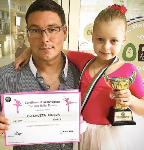 Андрей Чуев поздравил юную наследницу с первой победой