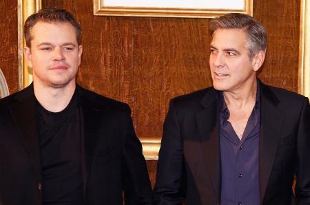 Как Джордж Клуни готовится к отцовству: рассказывает Мэтт Дэймон и другие