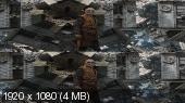 Без черных полос (На весь экран) Доктор Стрэндж 3D / Doctor Strange 3D  Вертикальная анаморфная стереопара