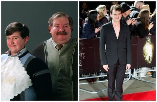 Дадли из «Гарри Поттера» изменился до неузнаваемости и похудел