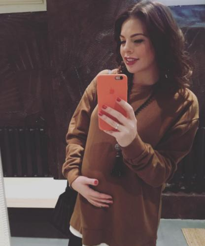 Анастасия Стоцкая проговорилась о поле своего второго ребенка