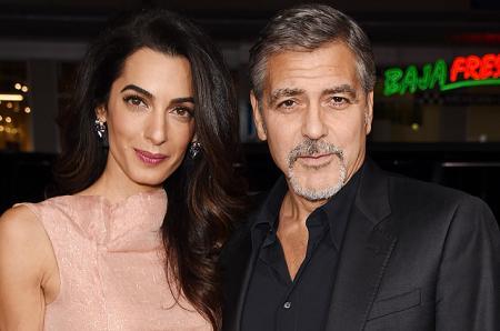 Джордж Клуни сообщил дату рождения будущих детей и опроверг информацию о том, что он и Амаль ждут мальчика и девочку