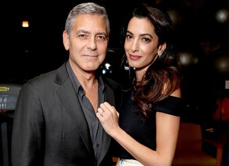 Джордж Клуни опроверг слухи о том, что они с Амаль ждут сына и дочь