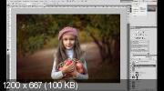 Сказочный детский портрет в Photoshop (2017)