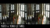 Фантастические твари и где они обитают 3D / Fantastic Beasts and Where to Find Them 3D Горизонтальная анаморфная стереопара