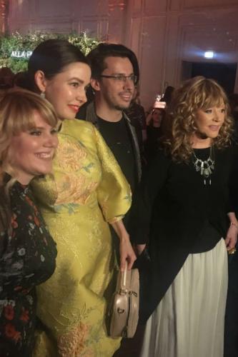 Алена Ахмадуллина, Максим Галкин и Алла Пугачева