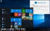 Windows 10 Pro 1703 15061.0 rs2 FULL by Lopatkin (x86-x64) (2017) [Rus]