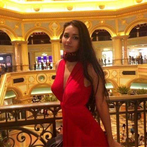 Российская модель обворожила соцсети пикантным образом