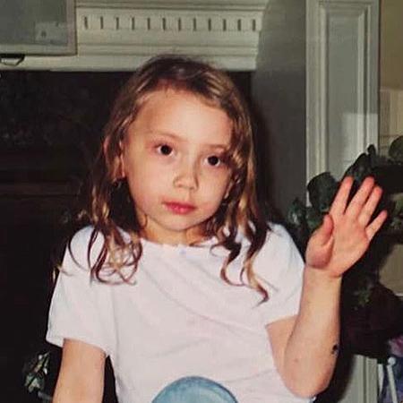 Хэйли Джейд Скотт в детстве