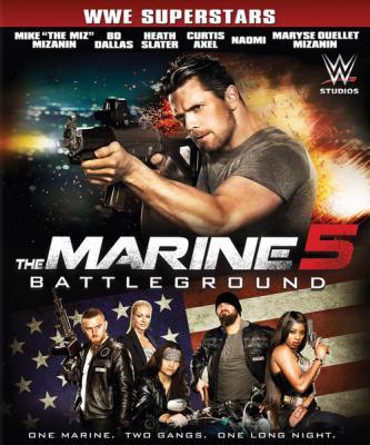 Морпех 5: Поле битвы / The Marine 5: Battleground (2017) WEB-DL 720p | L