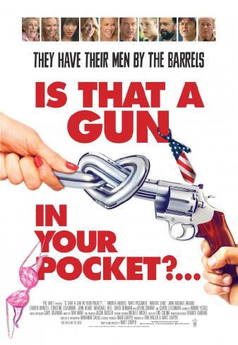 Это пистолет у тебя в кармане?