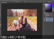 Фотосъемка и обработка портретной фотографии (2017)