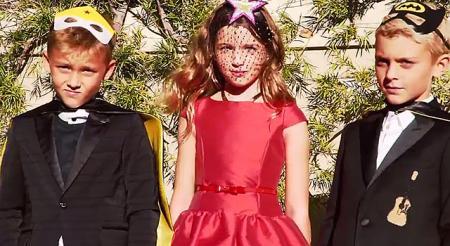 Дочь Миллы Йовович и сыновья Патрика Демпси объединились для съемок в итальянском Vogue