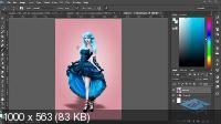 Создаём кукольный образ в Фотошоп (2017) WEB-DLRip