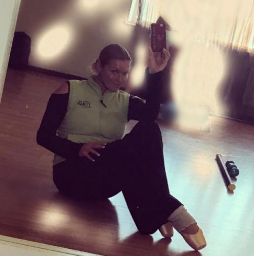 Волочкова показала фото с репетиции