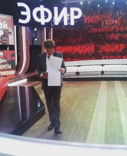 Борис Корчевников вспомнил, как отец умирал на его глазах