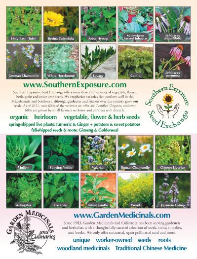 Mother Earth News Food and Garden Series   November (2018)