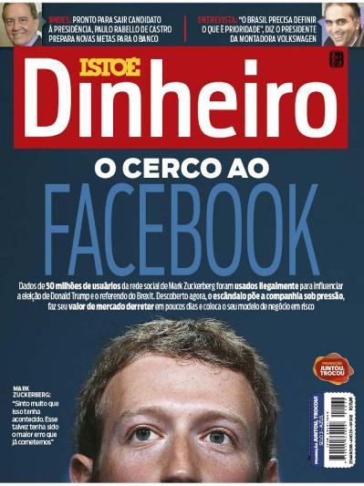 Isto  201 Dinheiro   Brasil   Issue 1062   28 Mar 231 o (2018)